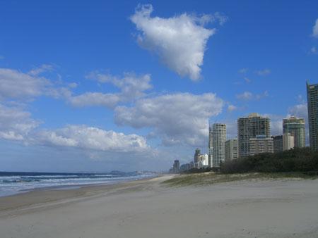 Coast of Surfer's Paradise