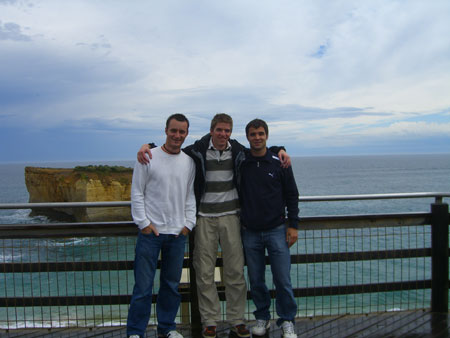 Robert, Phil, Markus