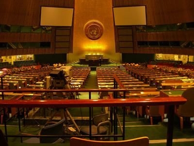 UN Vollversammlungssaal