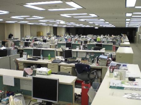 Das Office nach Feierabend